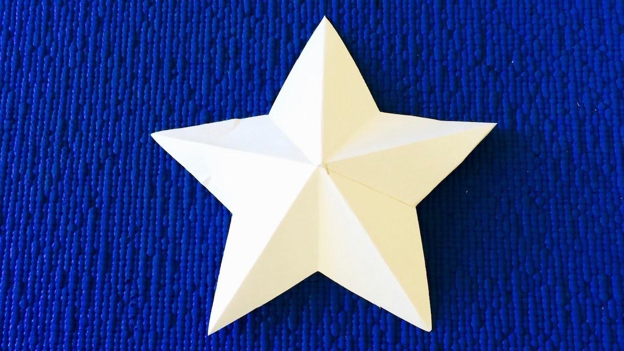 Как сделать 3d звезда