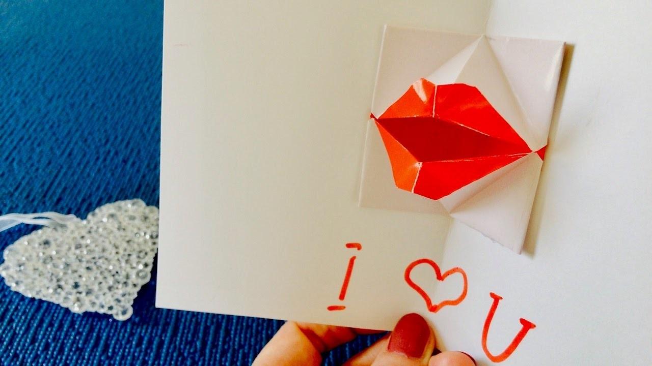 Как сделать 3д открытку с оригами