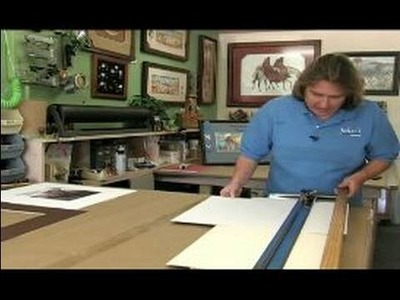 All About Picture Framing : How to Do the Second Mat of a Double-Mat Picture Frame