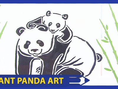 Art Attack | Giant Panda Art | Disney India Official