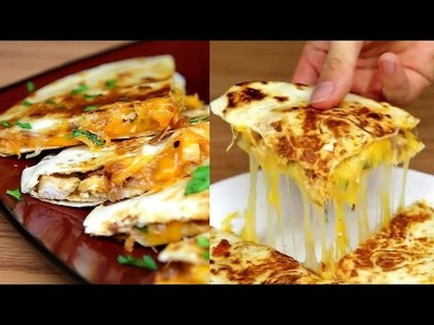 BBQ Chicken Quesadillas - How to Make BBQ chicken Quesadillas - BuzzFeed Food VIDEO