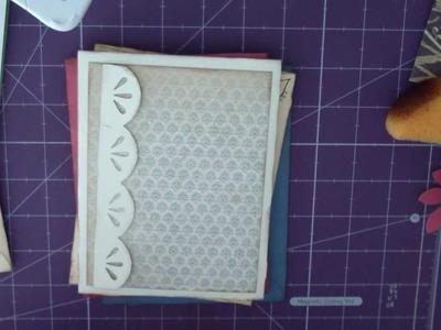 CTMH Cricut Art Philosophy #16 - Envelope Mini Album, Part 3