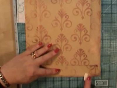Gift Bag from Envelope Tutorial