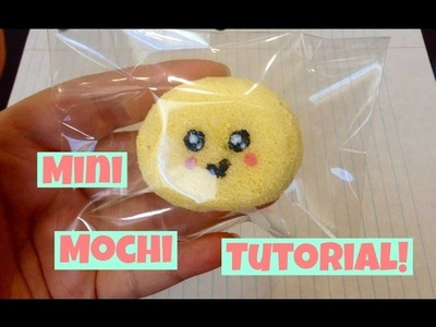 Homemade Squishy Tutorial: Mini Mochi^U^