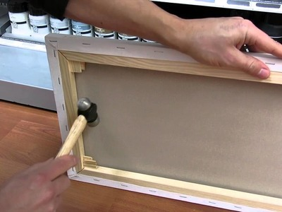 How to attach Canvas Wedges