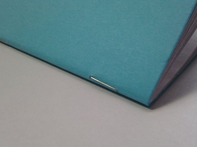 How to bind a book with staples (saddle stitch binding)