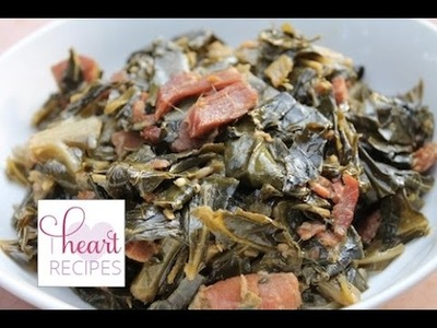 How to cook Southern Collard Greens - Recipe   I Heart Recipes