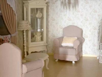 How to make miniature armchair