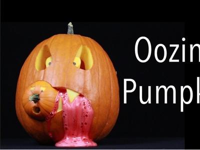 Make an Oozing Pumpkin