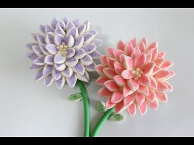 Marshmallow Flower Cupcake | Cupcake Decorating Tutorial