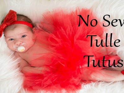 No Sew Tulle Tutu | Two Different Ways