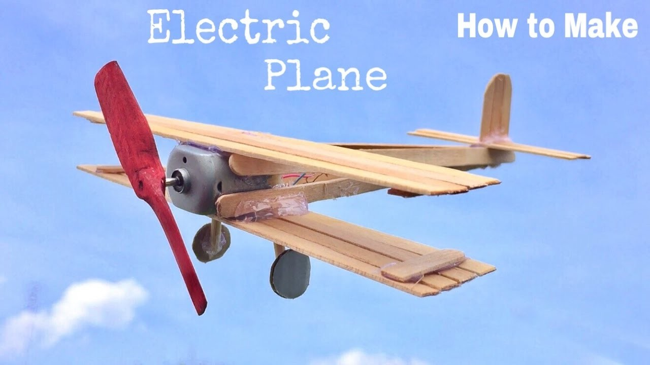 Как сделать летающий самолёт на моторчике 473