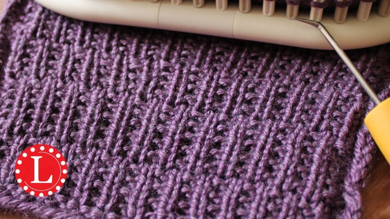 Loom Knit Stitches Directory of FREE Patterns with Video - satukis.info