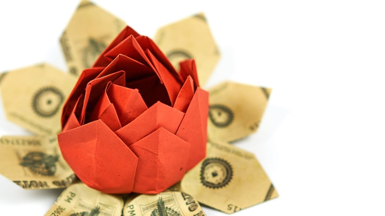 Origami Flower From Dollar Bill 361836 1cashingfo