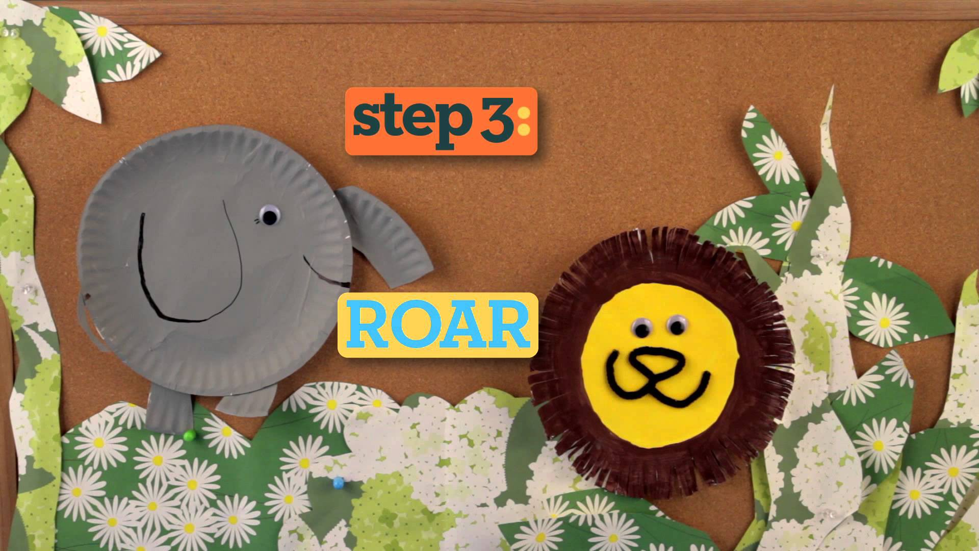 4 Paper Plate Crafts for Kids