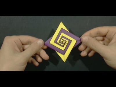 #40 Spiral origami by Tomoko Fuse - Yakomoga Origami tutorial