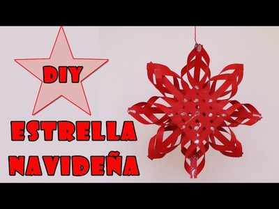 Adorno para Navidad - estrella navideña -Christmas star