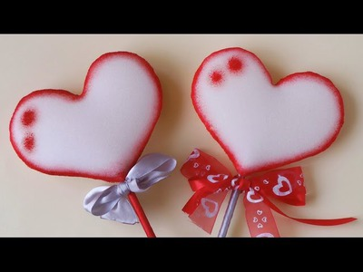 Ana | DIY crafts - Foam Heart