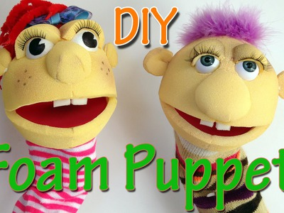 Ana DIY Crafts - How to make a Foam Puppet