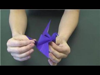 Animal Paper Crafts : How to Make Paper Birds