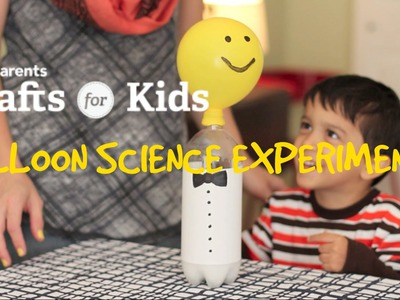 Balloon Science Experiment | Crafts for Kids | PBS Parents