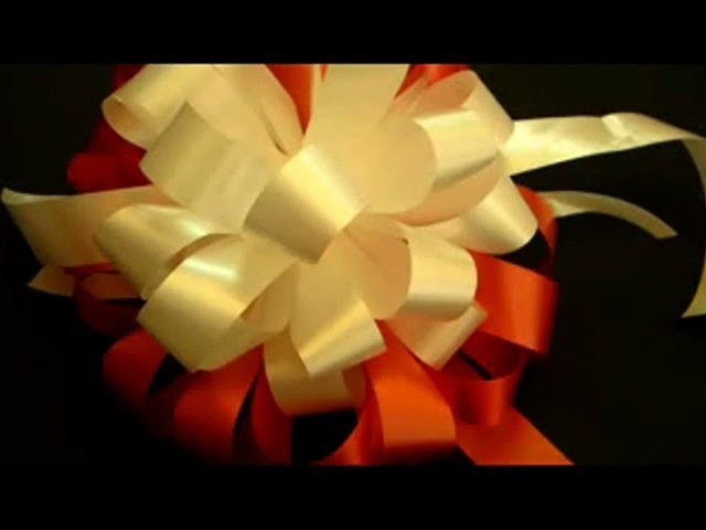 Beautiful Ribbon Bow Gift Tutorial