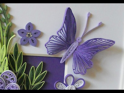 Quilling How To Make The Petal Of A Flower Using Hair Comb