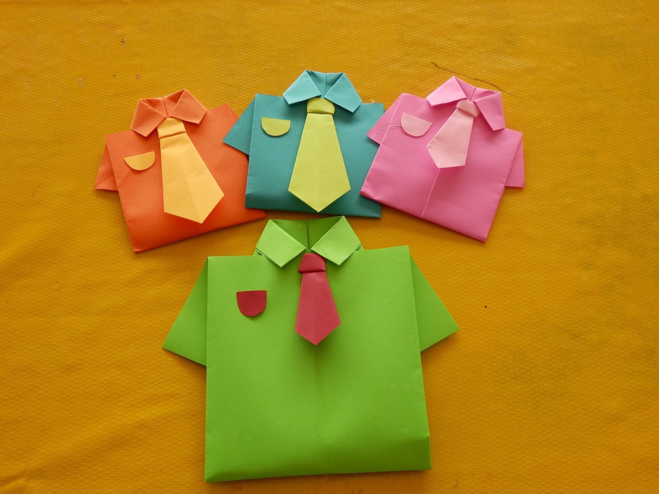 Camisa de Origami