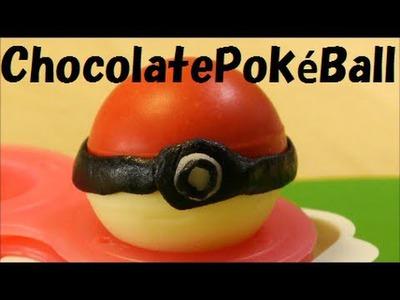 Chocolate Pokéball & Candy Pikachu Recipe ポケモン モンスターボール チョコ
