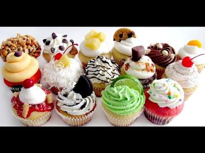 Cupcake  ❤ FIMO TUTORIAL ❤
