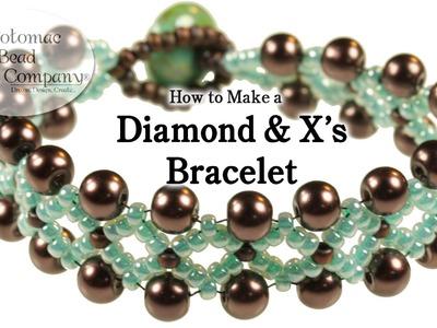 Diamonds & X's Bracelet (New Version)