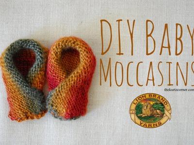 DIY Baby Moccasins - Martha Stewart Knit & Weave Loom Kit
