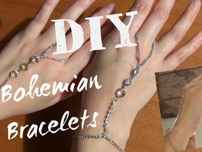 DIY ♥ Bohemian Bracelet