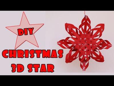 DIY christmas crafts   - Christmas 3D star