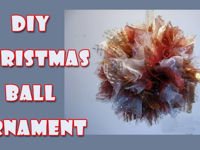 DIY christmas crafts - Christmas Ball Ornaments
