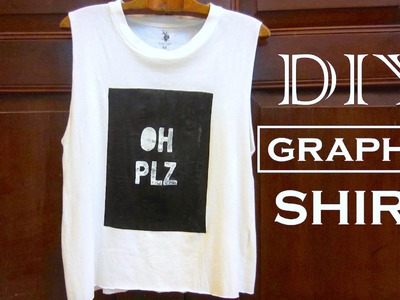 DIY Clothes | DIY Graphic Tee  | Forever 21 Inspired Graphic Tank | DIY Valentine Gift Ideas