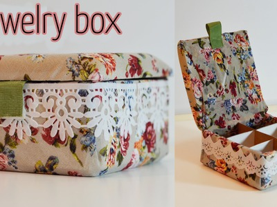 DIY Craft : Jewelry box