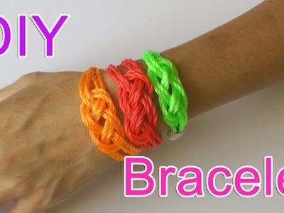 DIY crafts : Cotton or Rope Bracelet
