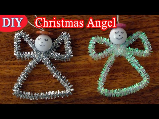 Diy crafts for christmas christmas angel easy for Craft angels to make