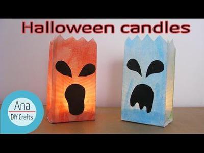 DIY Crafts : Halloween candles