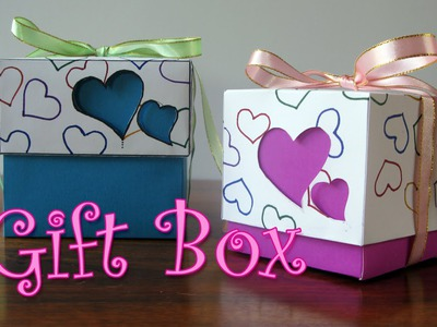 DIY crafts : Hearts Gift Box - Valentine's Day Box