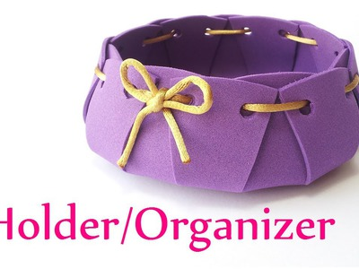 DIY crafts: HOLDER. ORGANIZER - Innova Crafts