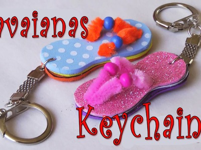 DIY crafts: How to make Havaianas key chain