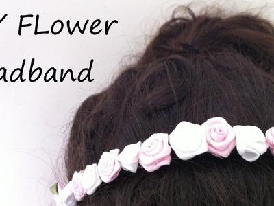 DIY Flower Headband Tutorial