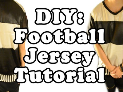 DIY: Football Jersey Tutorial