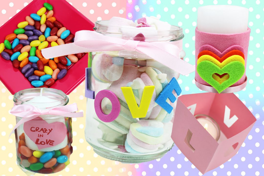 DIY GIFTS VALENTINE'S DAY & ROOM DIY DECOR projects Valentine Gift Ideas