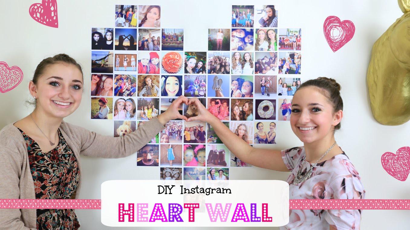 DIY Instagram Heart Wall | Valentine's Day Ideas
