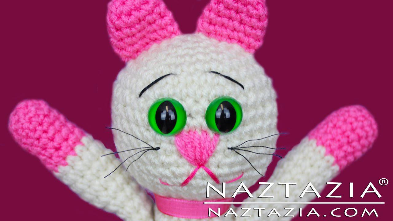 DIY Learn How to Crochet Kitty Kitten Cat Toy Amigurumi Stuffed Animal Pet
