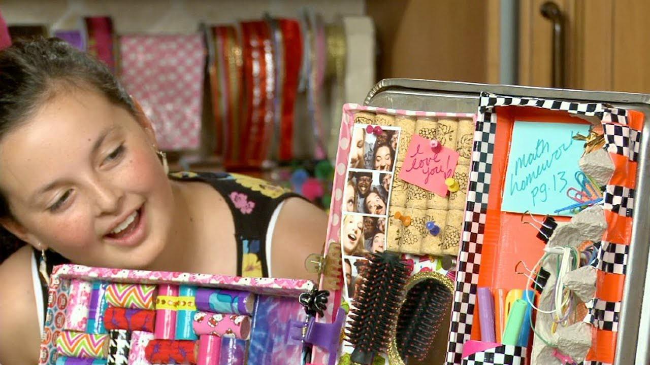DIY locker organizer|Sophie's World