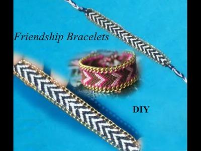 * DIY - Make Amazing Friendship Bracelets - Tutorial .
